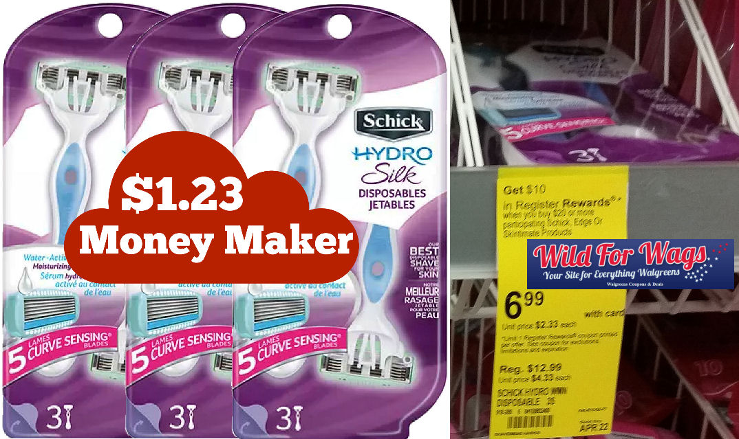 Schick hydro silk disposable razor deals