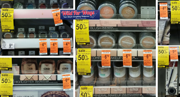 loreal cosmetics clearance deals