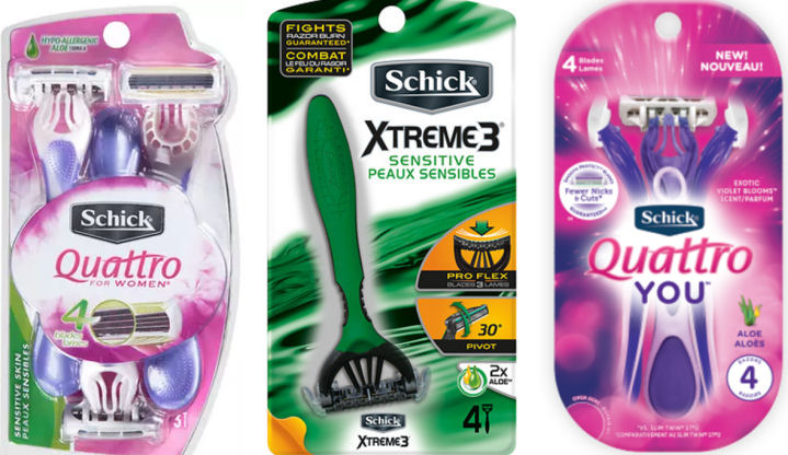 schick disposable razors coupon