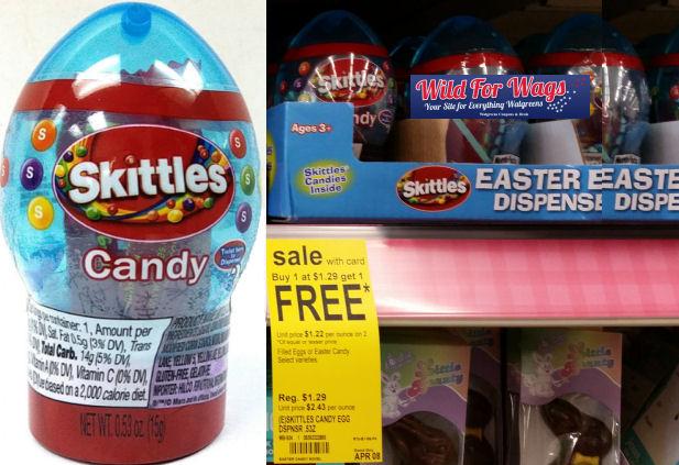 skittles candy egg dispenser