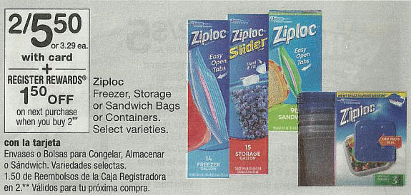 ziploc deal