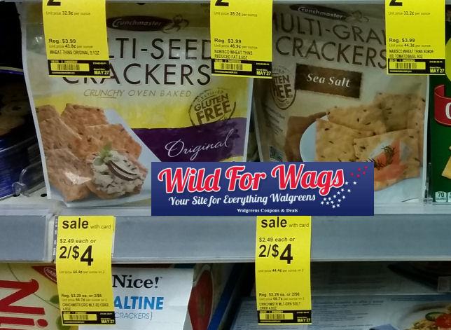 Crunchmaster multigrain crackers deal