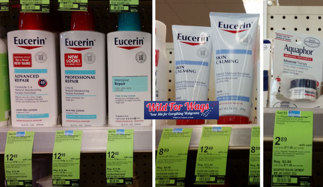 Eucerin cream & lotion deals