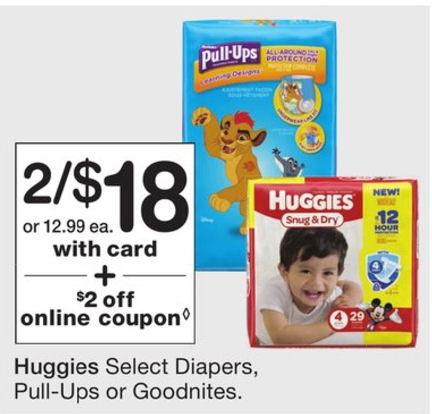 Huggies deals