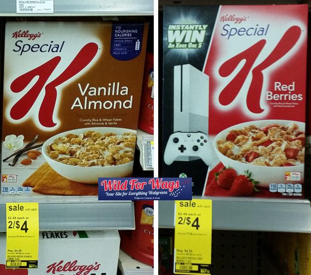 Kellogg's special k deals