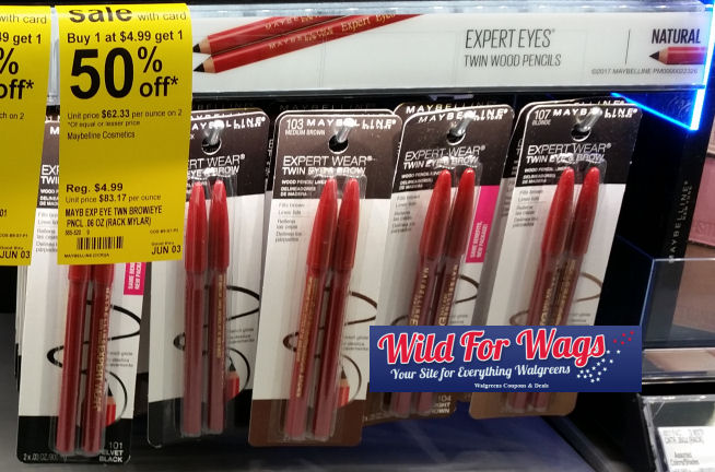 Maybelline brow pencils deal