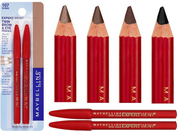 Maybelline twin pencils