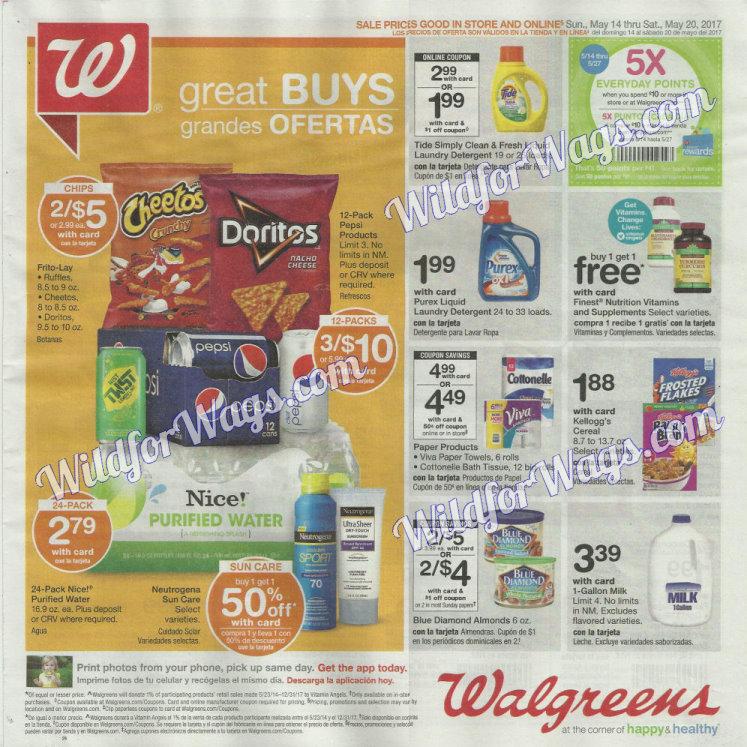 Walgreens Ad Scan 5-14 pg1m