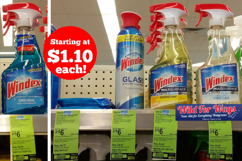 Windex register reward deals