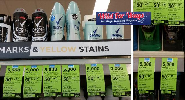 degree deodorant deals