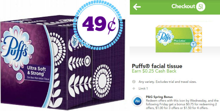 puffs tissue deal