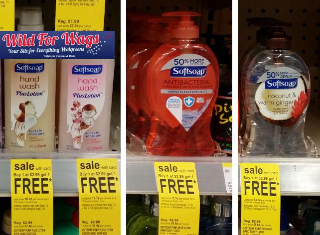 Softsoap hand soap deals