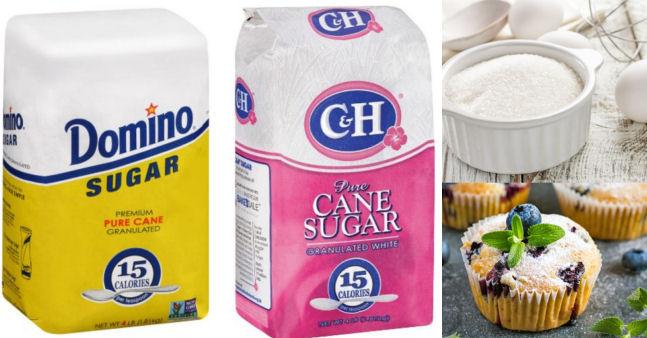 Domino & C&H sugar