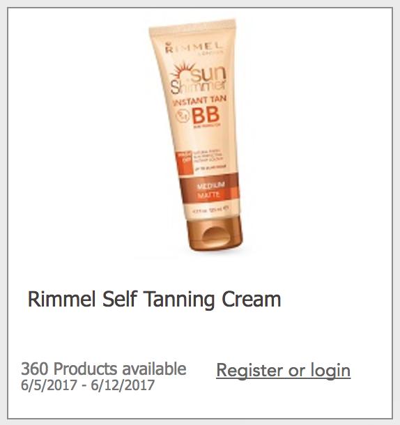 Rimmel Self Tanning Creme