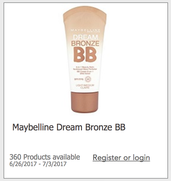 Maybelline coupons bb cream