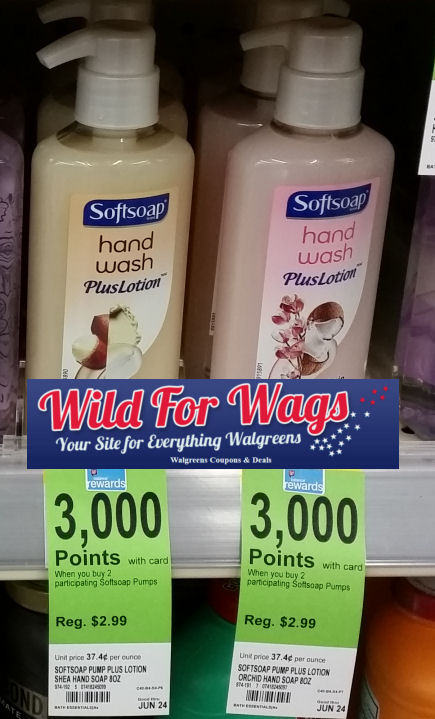 Softsoap hand lotion deal
