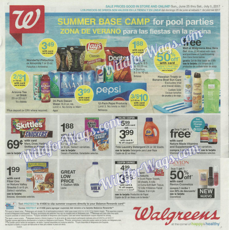 Walgreens Ad Scan 6-25 pg1b