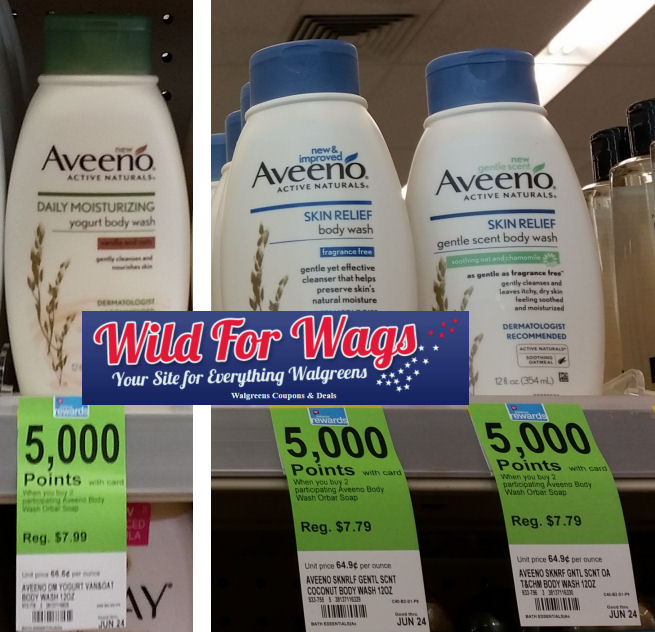 aveeno body wash deals