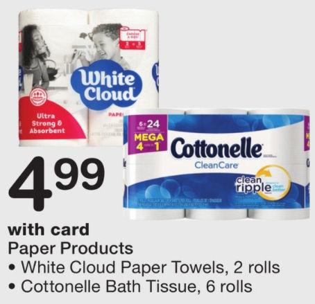 cottonelle mega deal