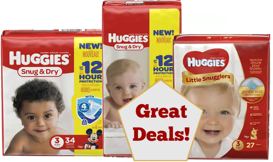 huggies jumbo pack deals