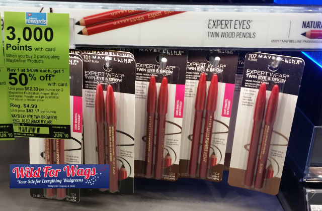 maybelline brow & eye pencil DEALS