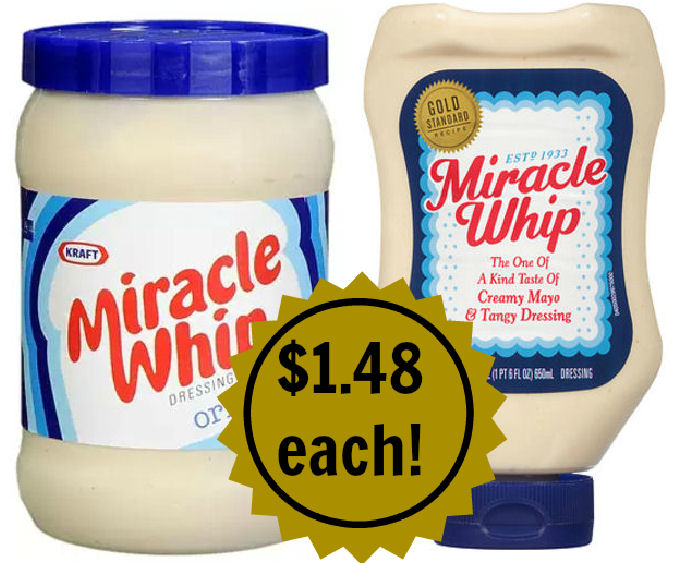 miracle whip deals