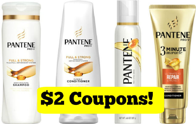 new pantene shampoo coupons