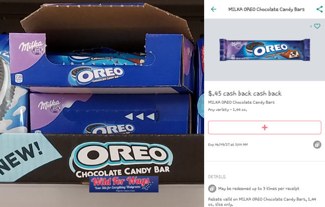 oreo milka chocolate bars deal