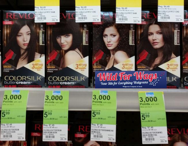 Revlon buttercream hair color coupon