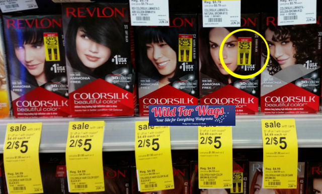 revlon hair color deal