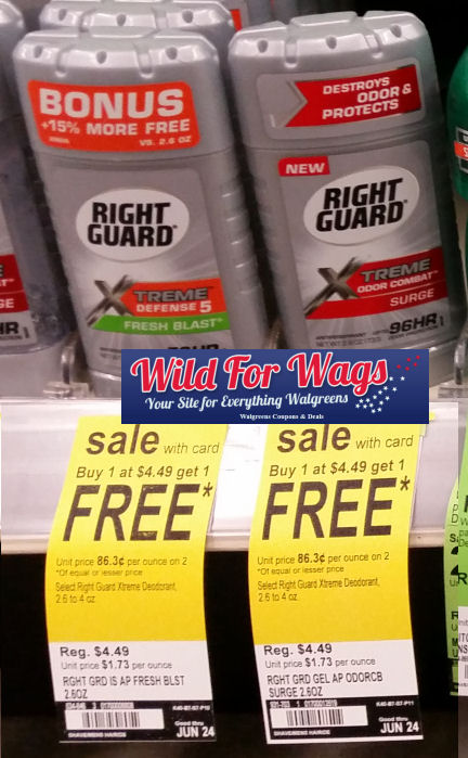 right guard deodorant