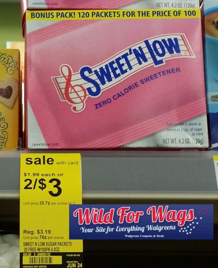 sweet 'n low deals