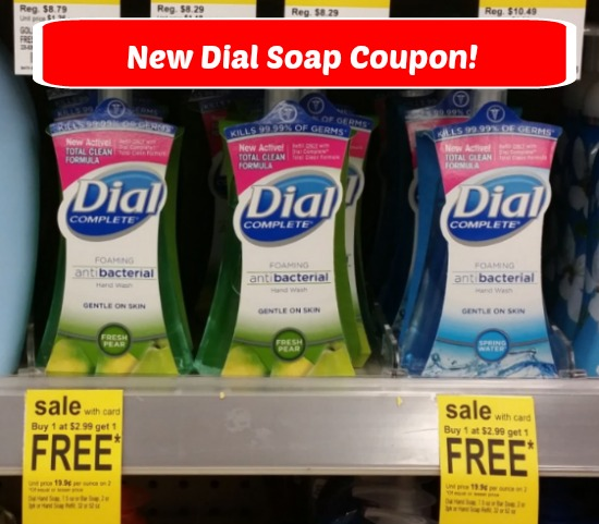 Dial Handsoap coupon