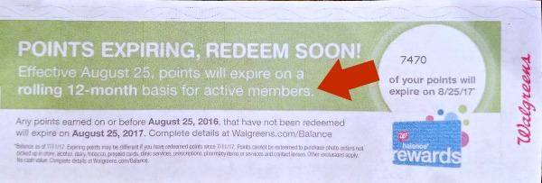 Walgreens Balance Rewards Changes