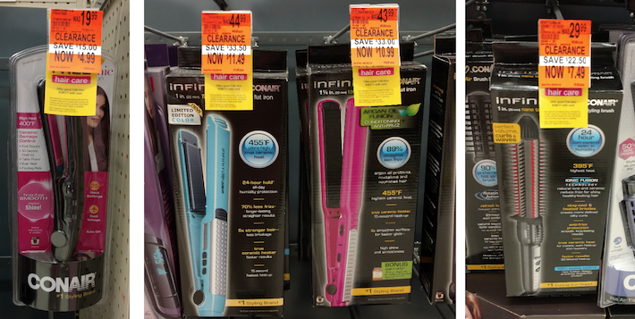 Walgreens Clearance Hair Appliances