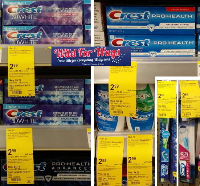 crest toothpaste and toothpaste deals