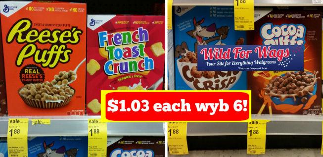 general mills cereals deal