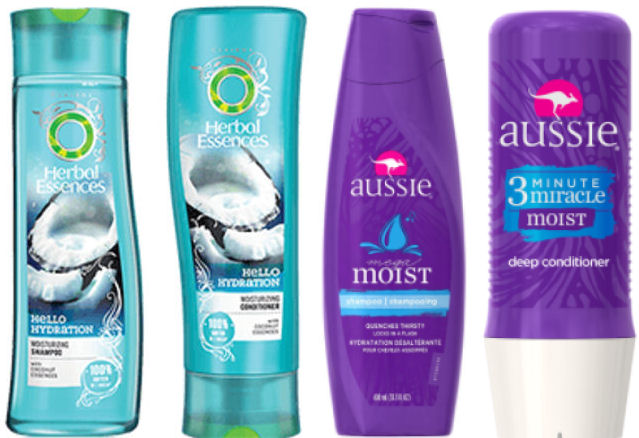 herbal essences and aussie deal
