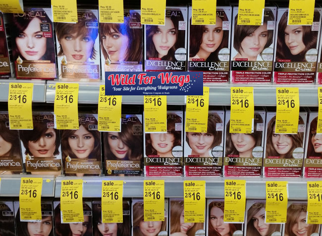 loreal hair color deal