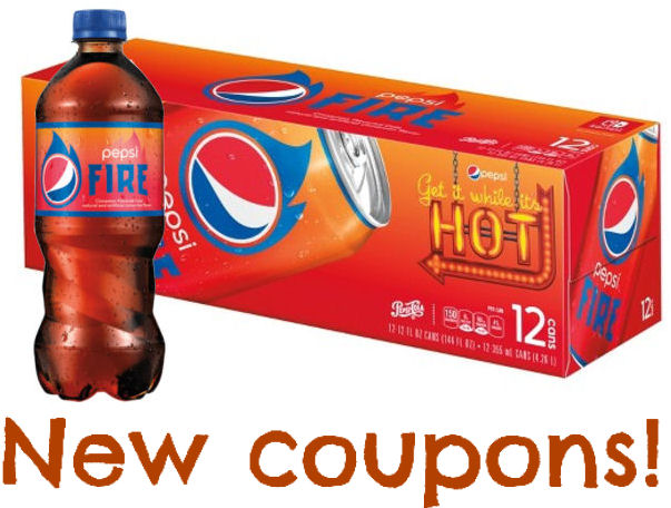 pepsi fire coupons