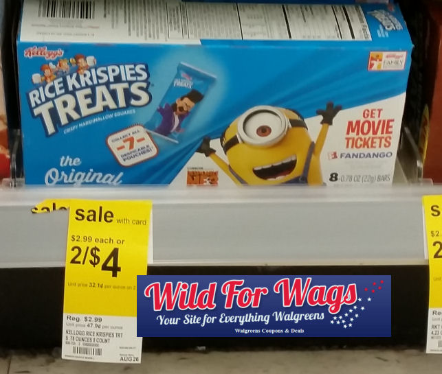 rice krispies treats deal