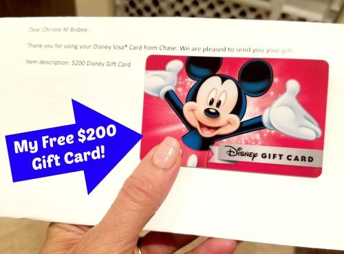 Free Disney Gift Card