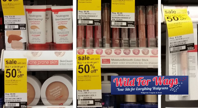 Neutrogena face and lip deal,