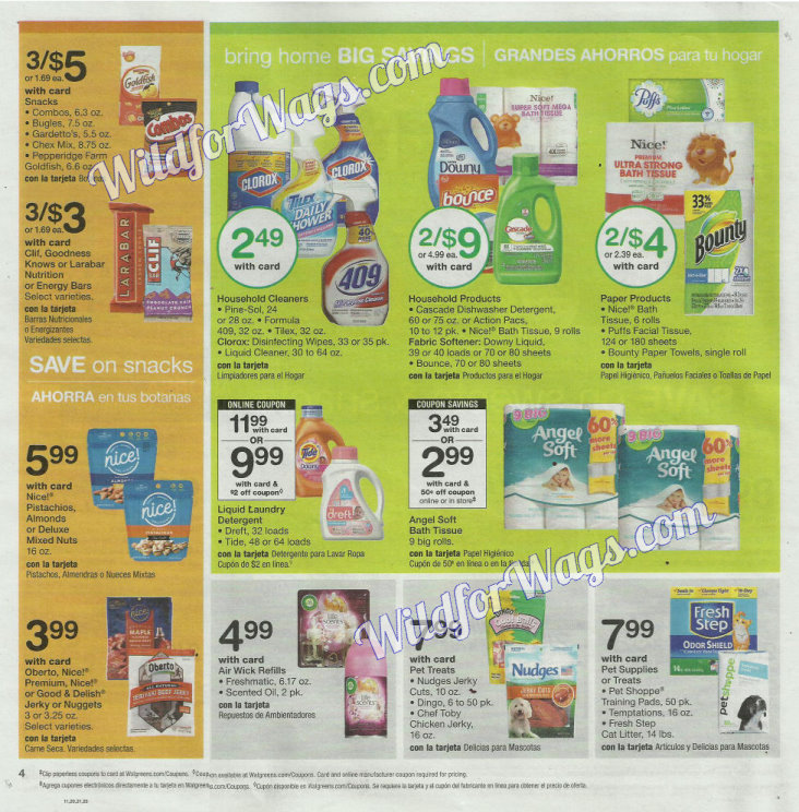 Walgreens Ad Scan 9-3 pg4g