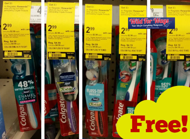 colgate toothbrush deal