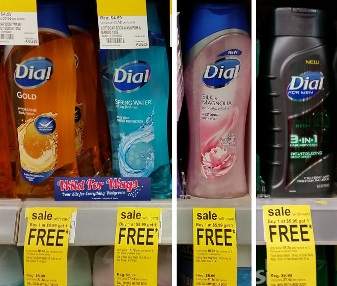 dial body wash deals