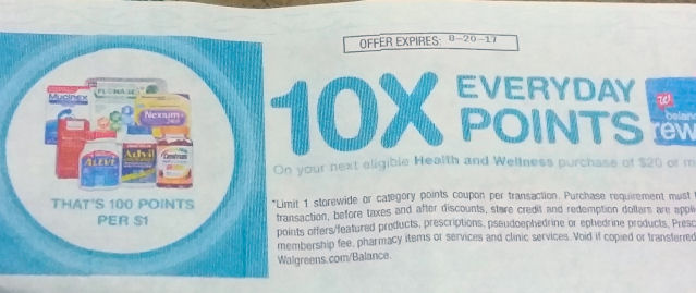 health & wellness coupon