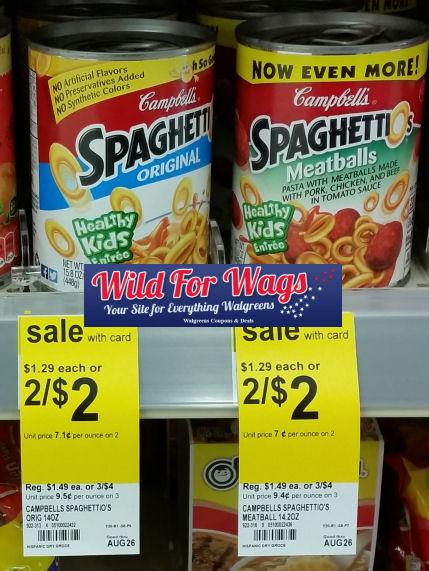 spaghettios deal