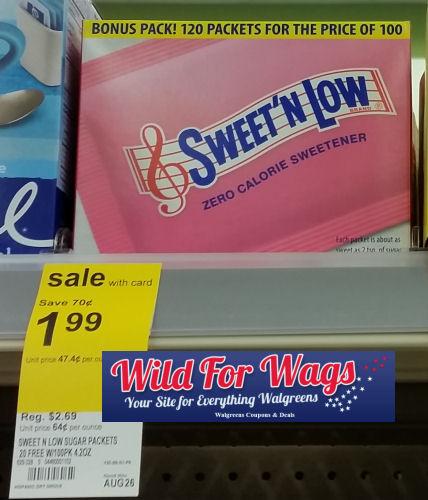 sweet n low deal