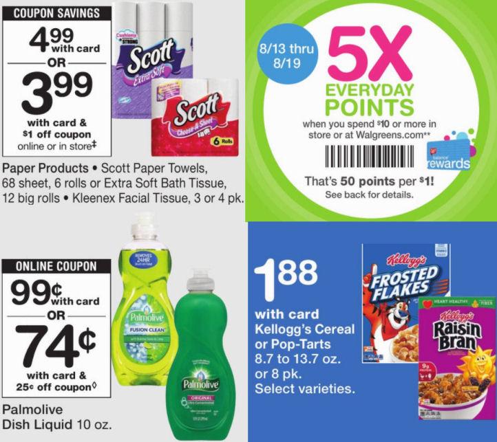 Walgreens Weekly Ad & Coupons 8/13